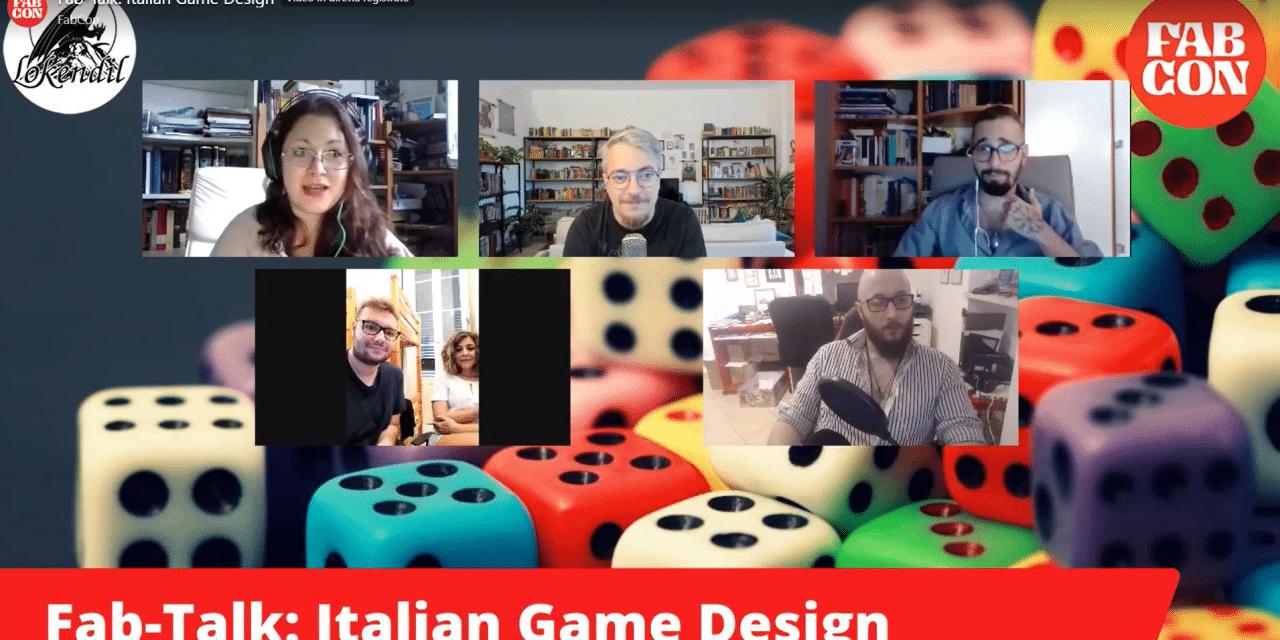 Italian Game Design: cosa ci siamo detti al fabcon 2020?