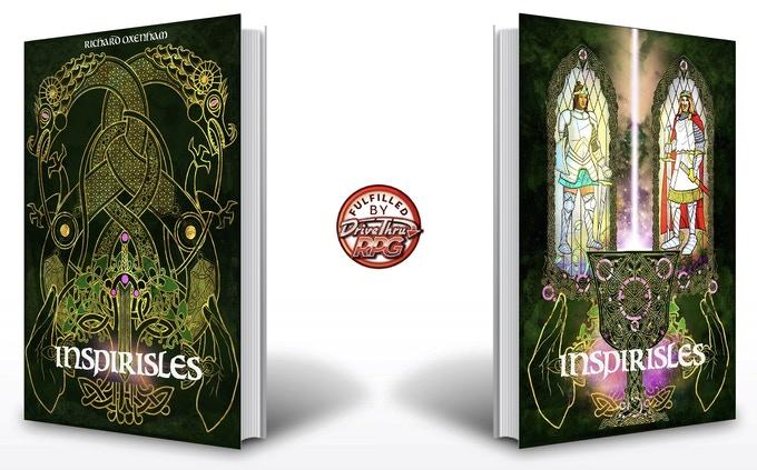 A sinistra la copertina classica di Inspirisles, a destra l'edizione speciale del Kickstarter