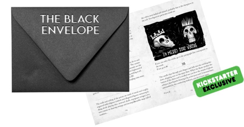 Una delle ricompense aggiuntive per Edgar Allan Poe - The Horror Gamebook