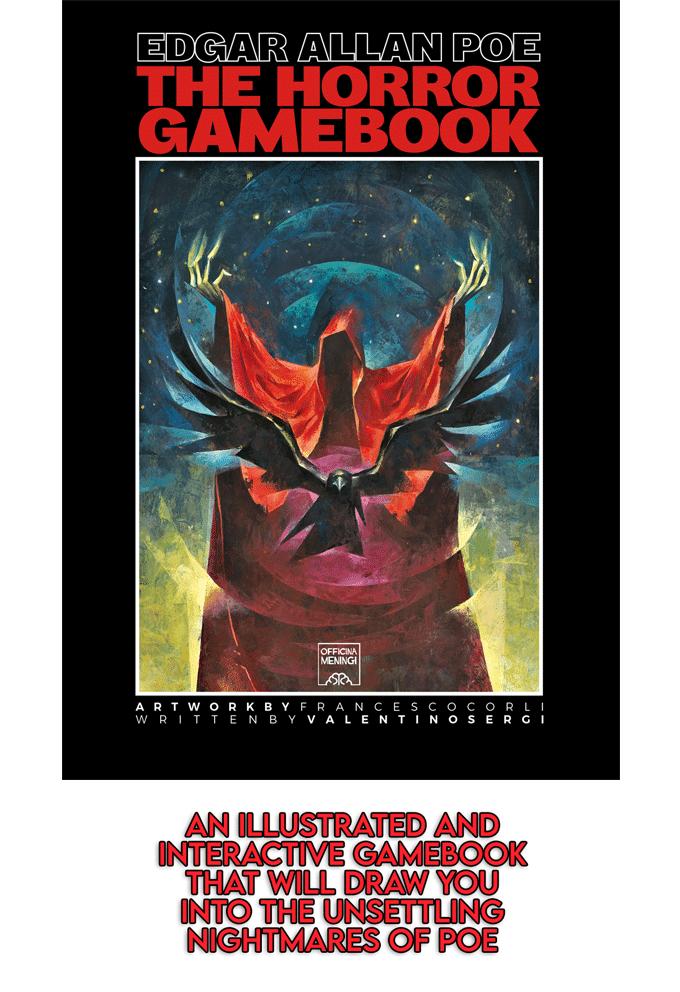 La copertina di Edgar Allan Poe - The Horror Gamebook