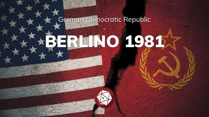 Berlino 1981: partita playtest del GDR di Fumble