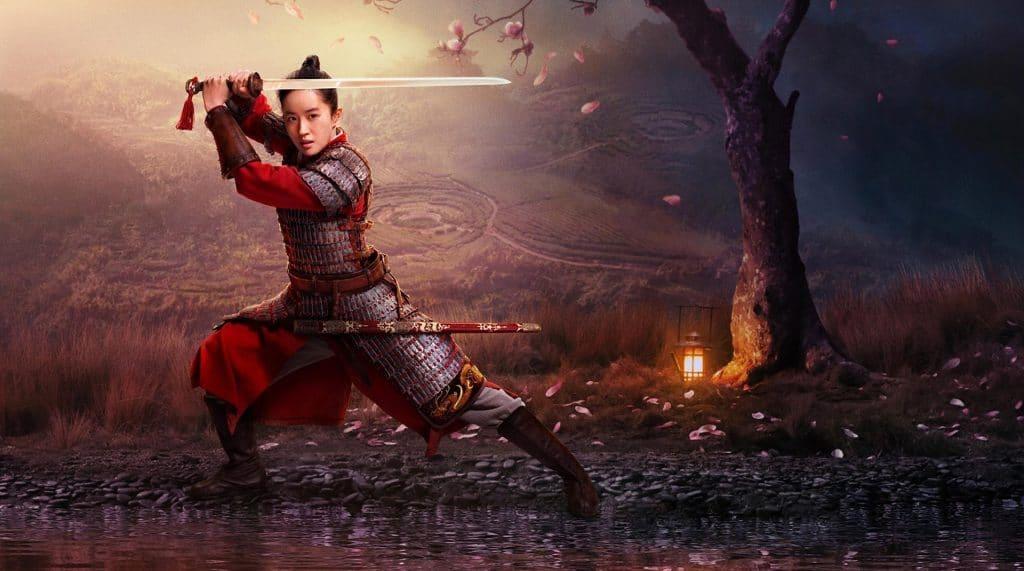 Un altro poster promozionale di Mulan