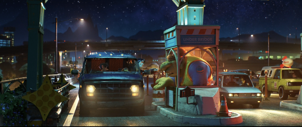 Pizza Planet Truck Onward Easter Egg