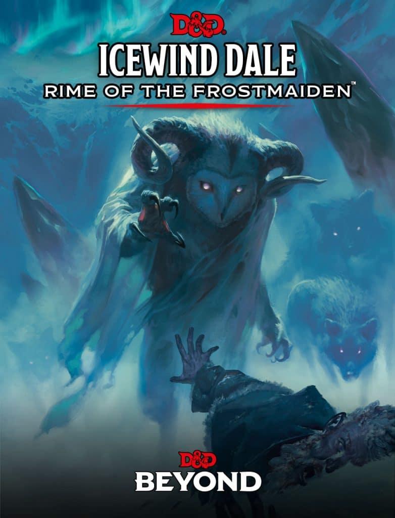 La copertina di Icewind Dale: Rime of the Frostmaiden, la campagna promossa dalla D&D Celebration