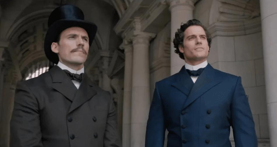 Mycroft e Sherlock in Enola Holmes