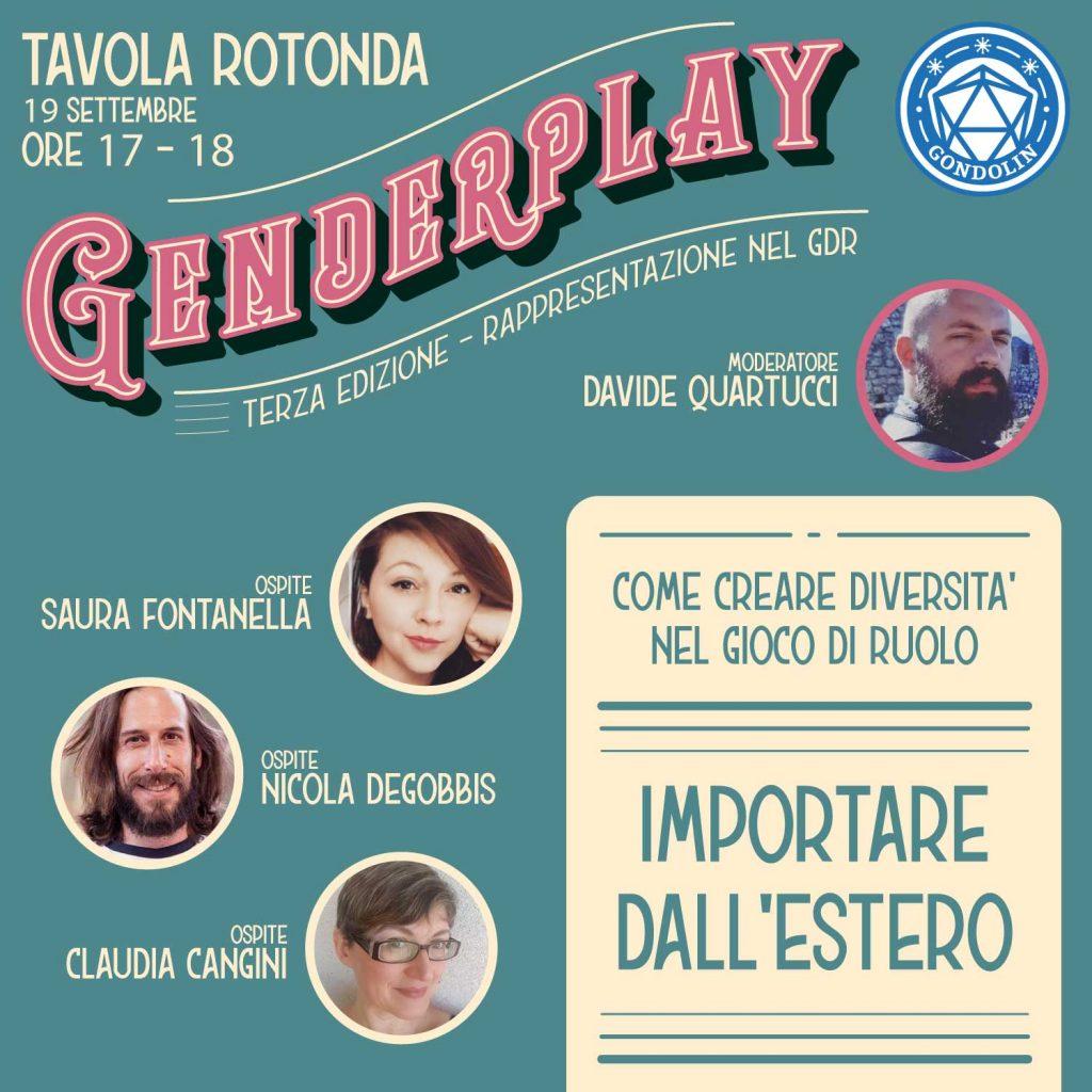 La prima tavola rotonda del Genderplay 3.0