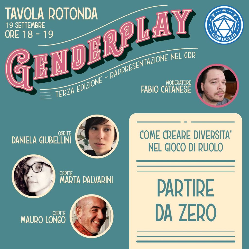 La seconda tavola rotonda del Genderplay 3.0