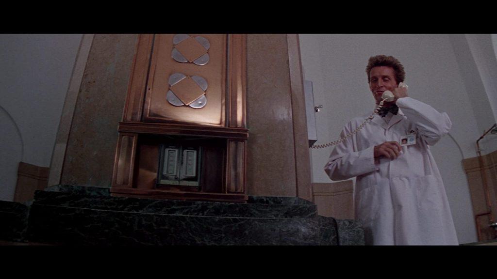 Fotogramma dal film Il Seme della Follia