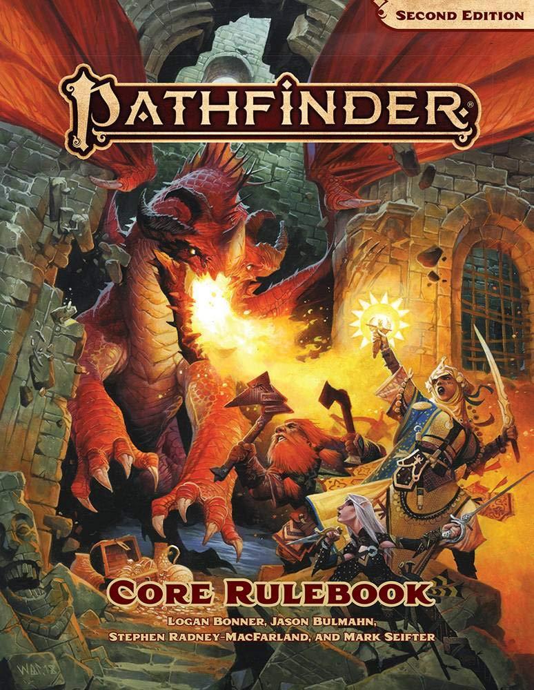 La copertina di Pathfinder 2