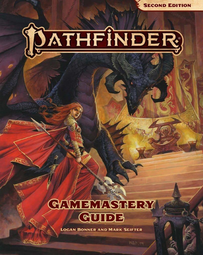 La copertina della Gamemastery Guide di Pathfinder 2