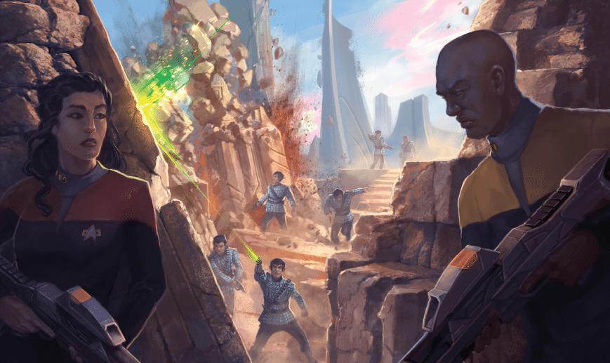 Star Trek Adventures scontro Romulani