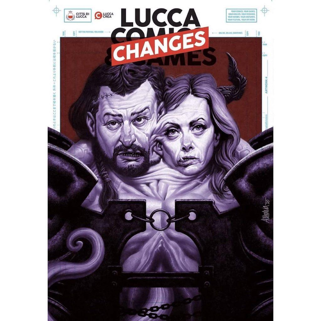 L'immagine di Lucca chaNGes incriminata
