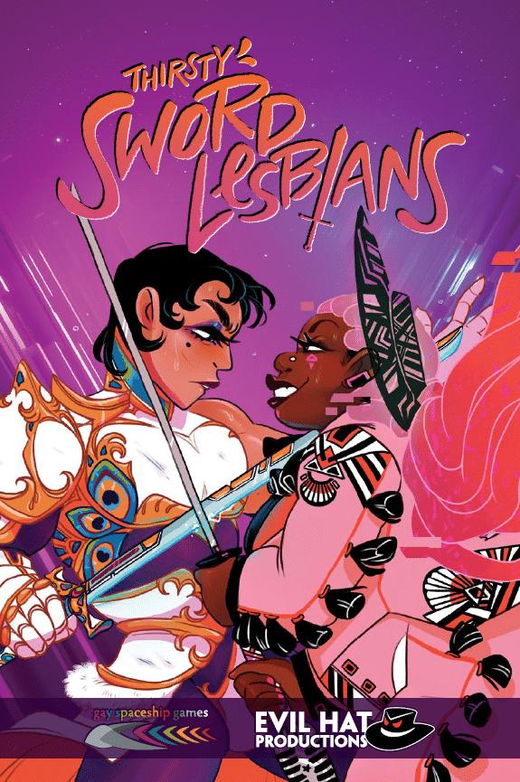 La copertina di Thirsty Sword Lesbians