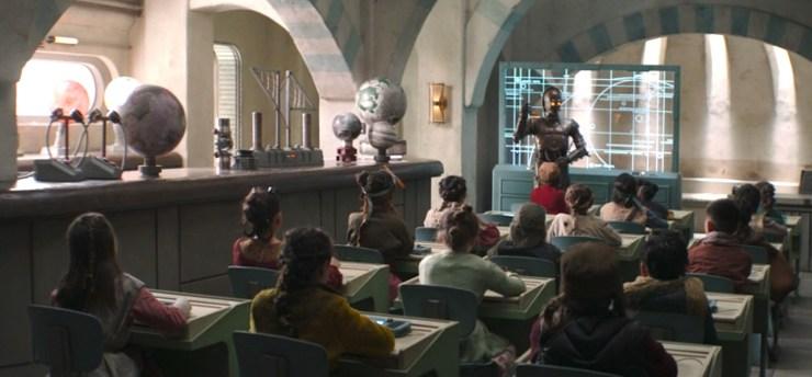La nuova scuola di Nevarro City ne L'Assedio