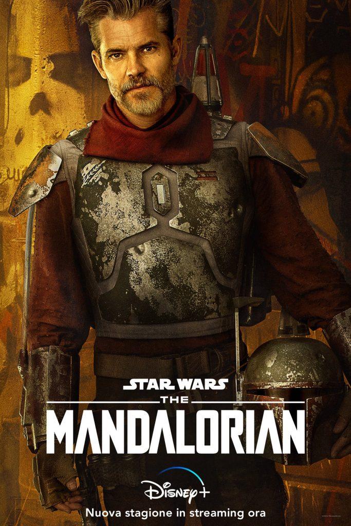 Cobb Vanth nel primo episodio della seconda stagione di The Mandalorian, Lo Sceriffo