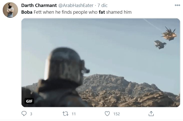 Un esempio di tweet contro il body-shaming