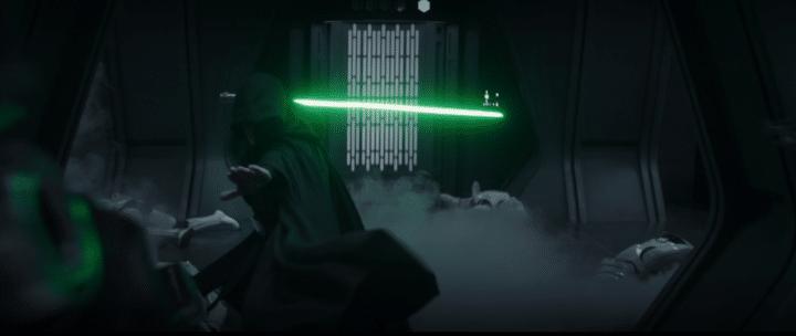 Una (piccola) immagine di Luke Skywalker ne Il salvataggio