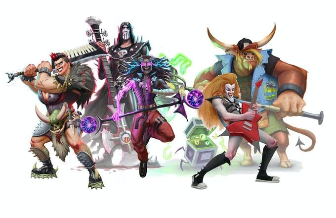 una band di gods of metal: ragnarock