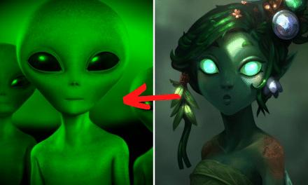 Alieni di oggi, folletti di ieri