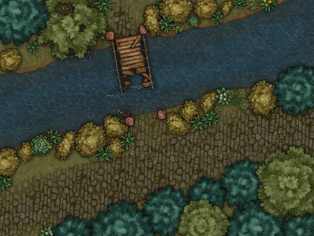Una mappa da battaglia creata dalla sottoscritta con Inkarnate 2.0