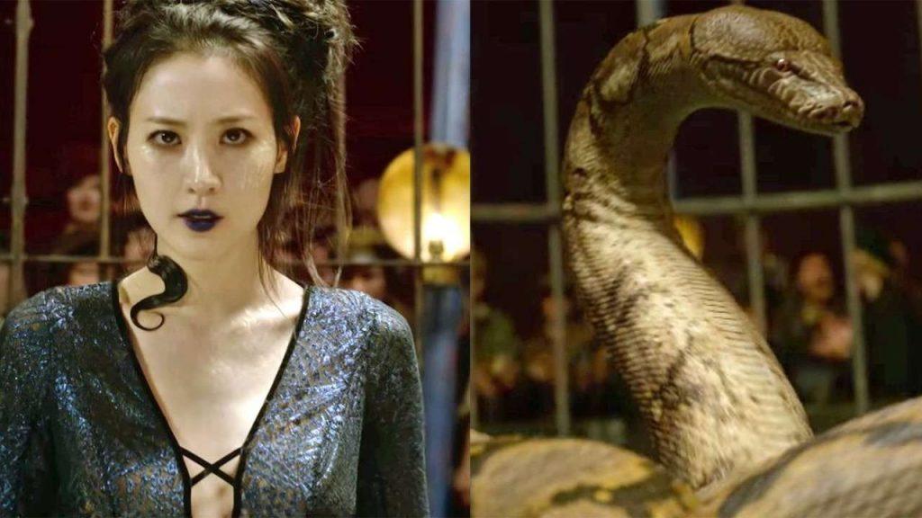 Il fatto che Nagini fosse una Maledictus è una delle più grosse retcon della saga di Harry Potter