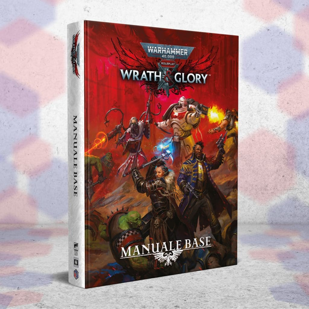Il manuale italiano di Wrath & Glory, edito da Need Games