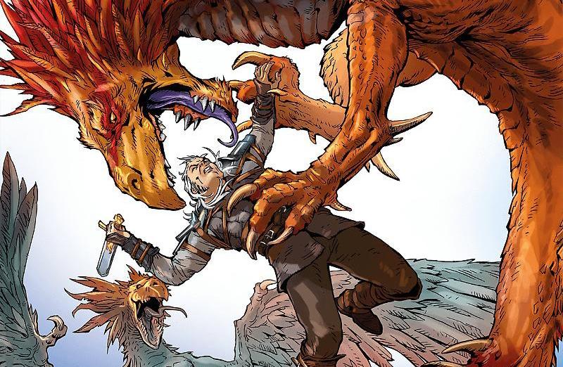 Il volo delle viverne – Dragonero il Ribelle #16