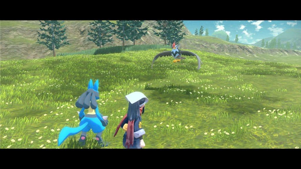 Immagine dal trailer di Pokémon Legends: Arceus