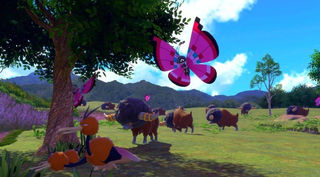 Immagine dal trailer di New Pokémon Snap, annunciato insieme a Pokémon Legends: Arceus