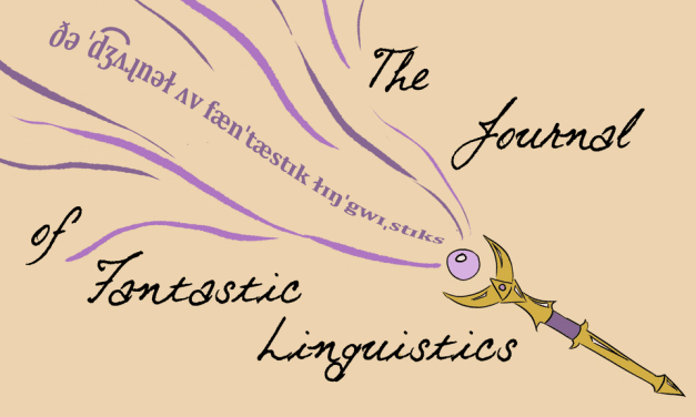 The Journal of Fantastic Linguistics su Kickstarter