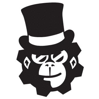 Il logo del Ludopub Victorian Monkey