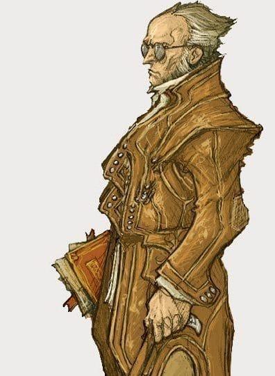 Van Richten in Curse of Stradh