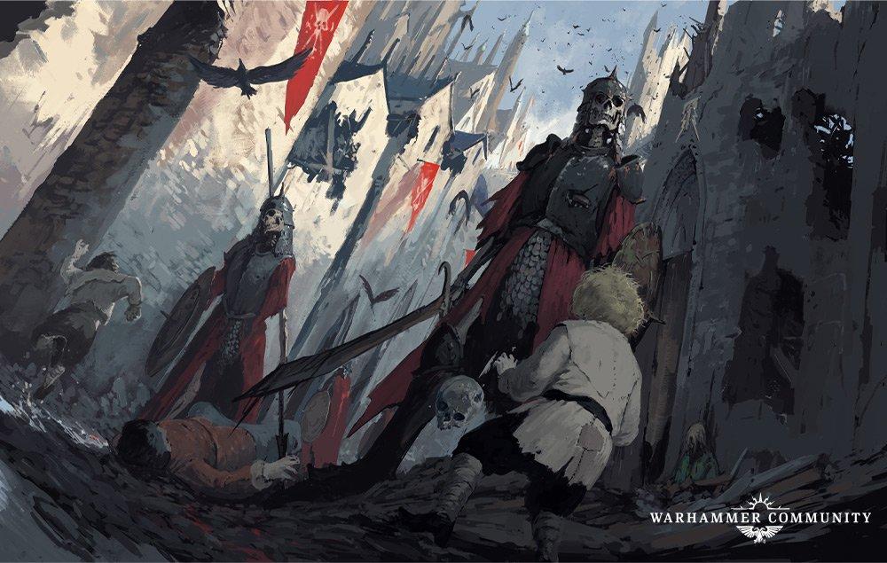 Un'immagine di Warhammer Quest - Cursed City