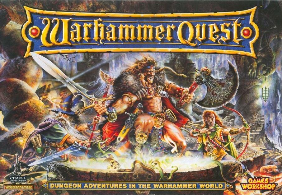 Warhammer Quest - Cursed City original