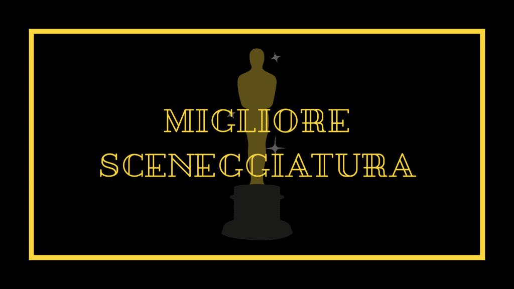 Nomination Oscar 2021 migliore sceneggiatura