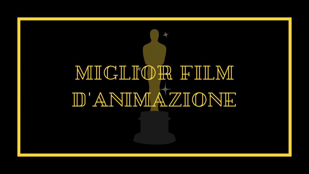 Nomination Oscar 2021 miglior film d'animazione