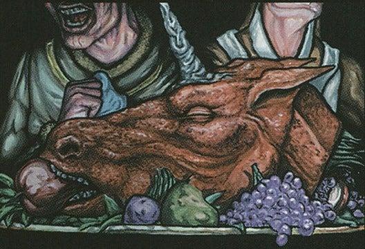 ricetta fantasy con testa di unicorno