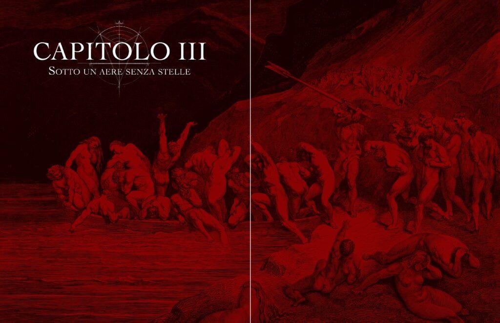 Illustrazione dal quickstart di Inferno - Dante's Guide to Hell