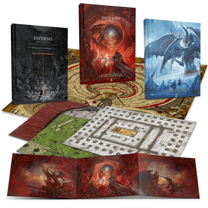 Il materiale di Inferno - Dante's Guide to Hell