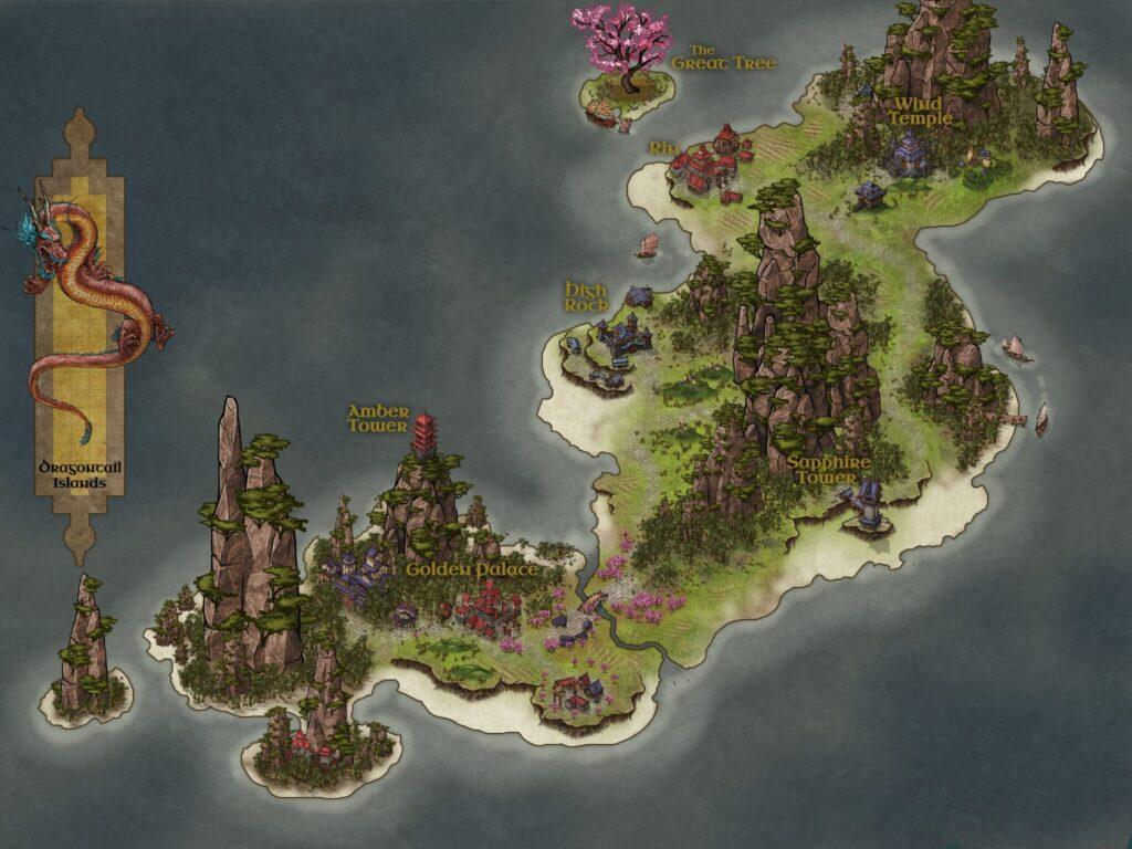 Un esempio di mappa orientale di Inkarnate