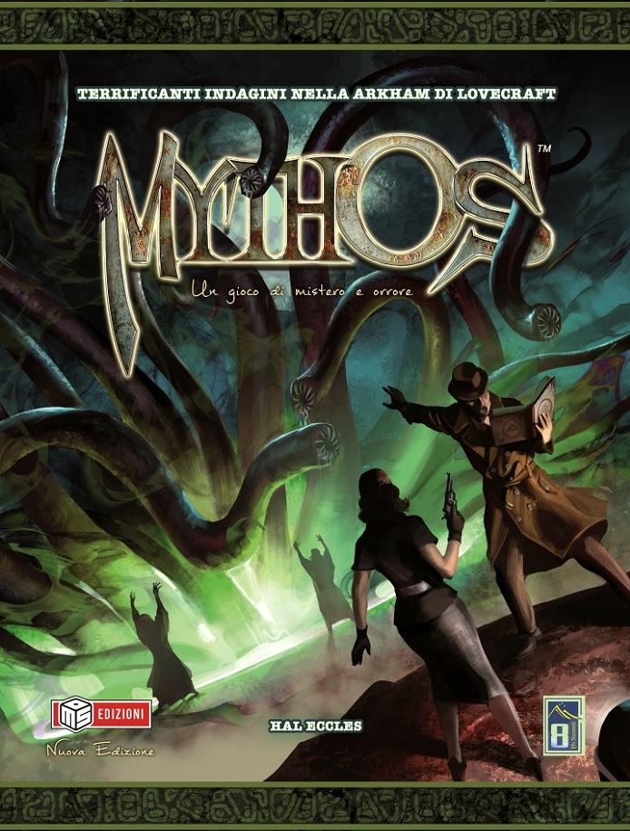 La copertina della nuova edizione di Mythos