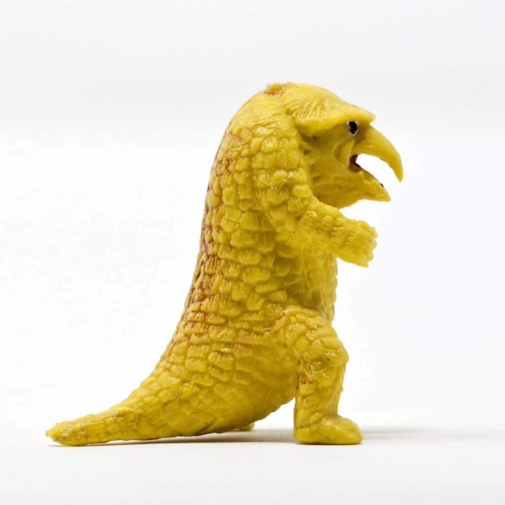 """Il """"dinosauro"""" di plastica che ha ispirato l'Orsogufo"""