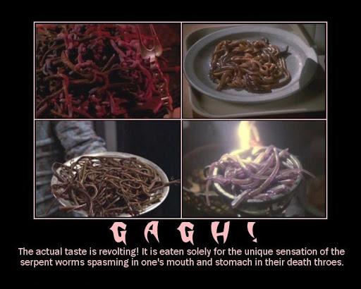 Ricette fantasy di serpent worms