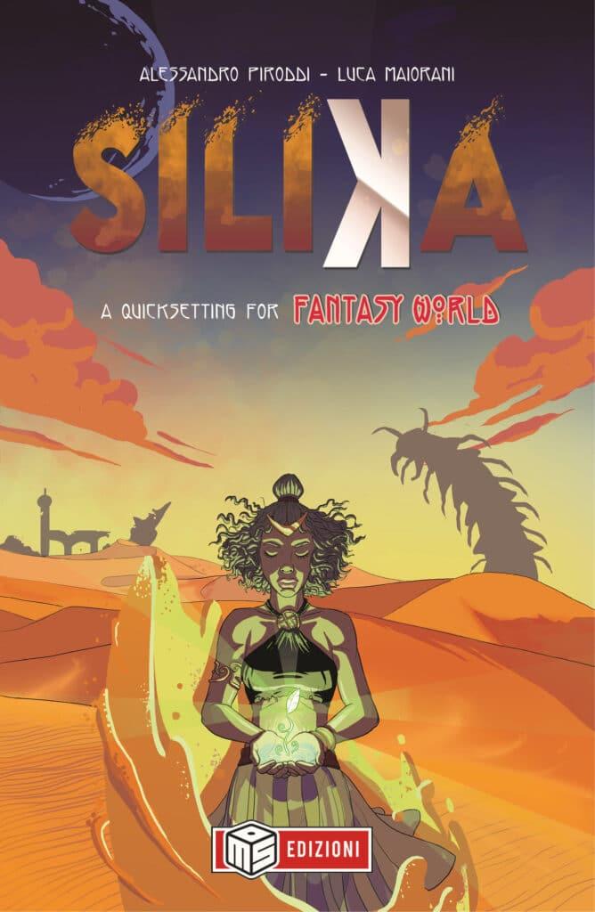 La copertina di Silika, il quicksetting di questo gioco di ruolo