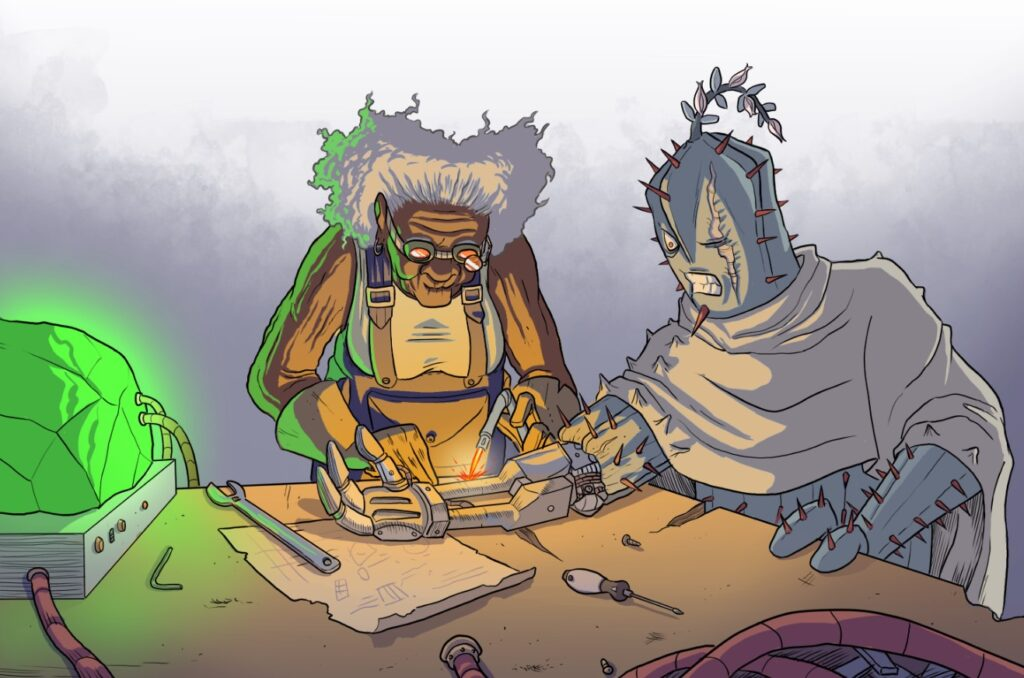 Un esempio della varietà degli scenari possibili in Fantasy World