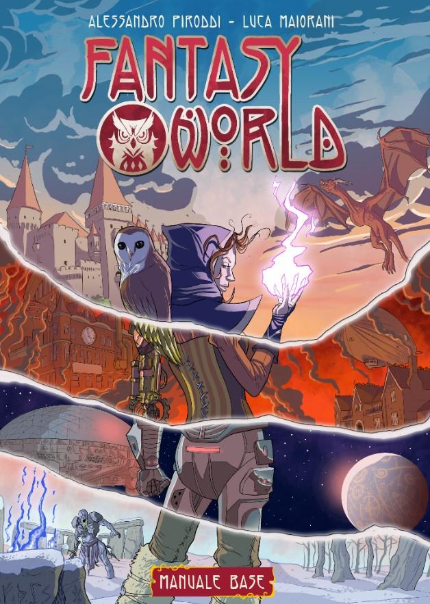 La copertina di Fantasy World