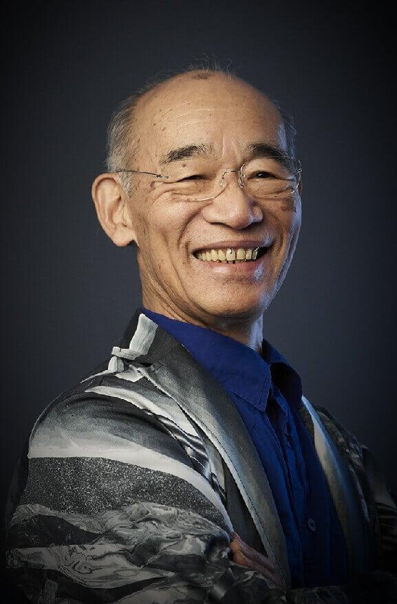 Yoshiyuki Tomino, il creatore principale di Mobile Suit Gundam