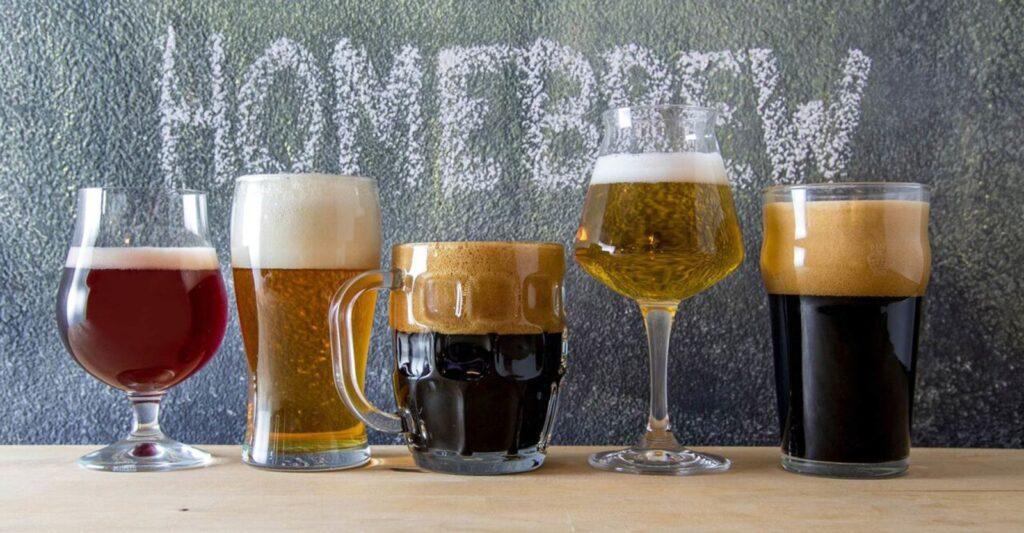 I riferimenti al fare la birra in casa non sono casuali!