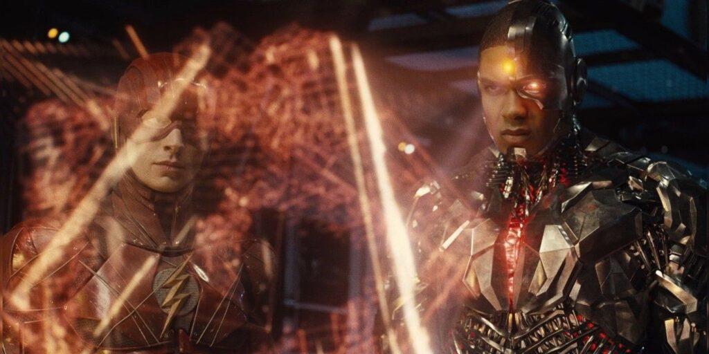 Ray Fisher nei panni di Cyborg nello Snyder Cut di Justice League