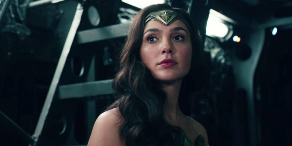 Gal Gadot nei panni di Wonder Woman nello Snyder Cut di Justice League